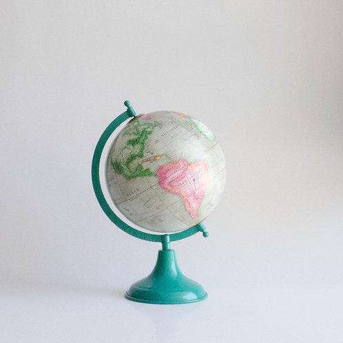 Globo terrestre verde