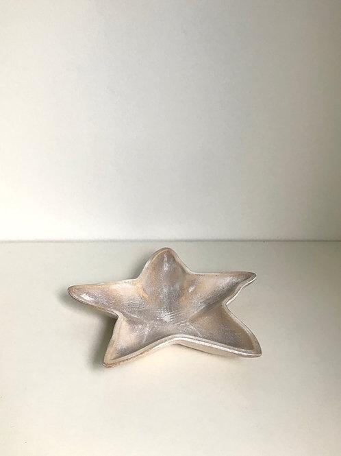 Bandeja madeira estrela do mar