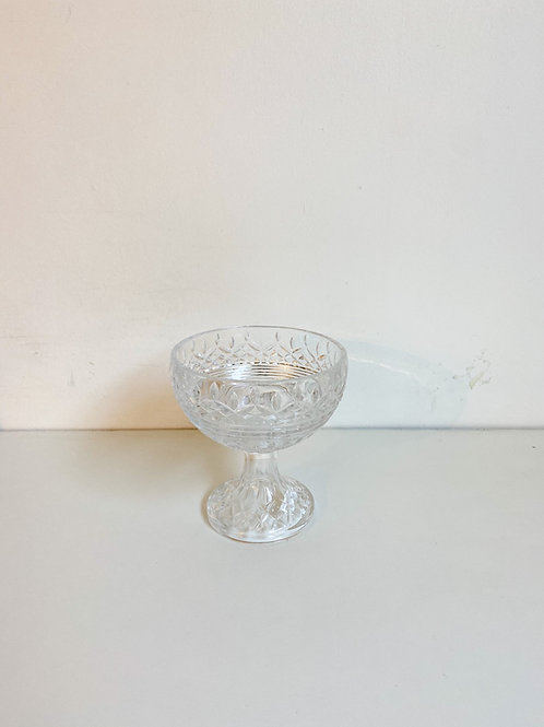 Bowl cristal com pé P