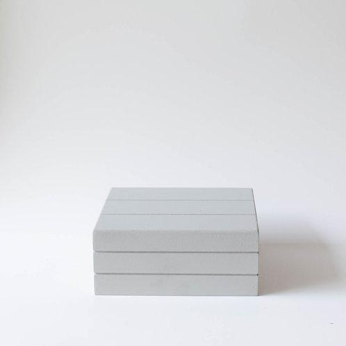 Caixa Teca cinza