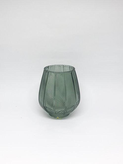 Vaso vidro P verde