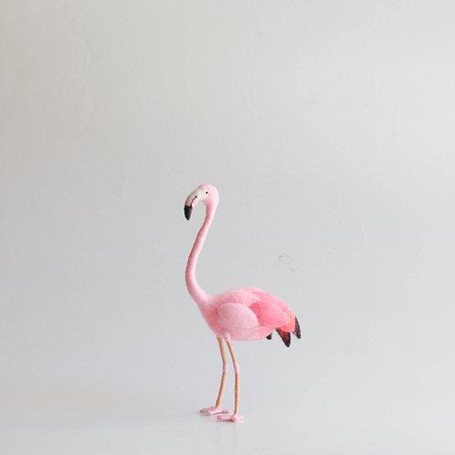 Flamingo em feltro