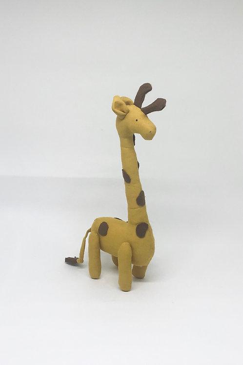 Girafa tecido