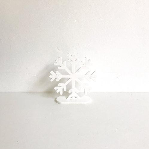 Floco de neve mesa