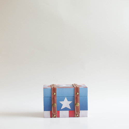 Caixa Capitão América (Vingadores)