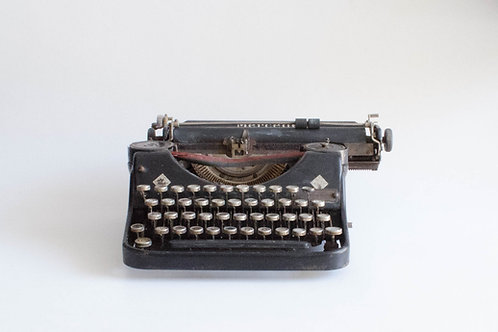 maquina de escrever Old