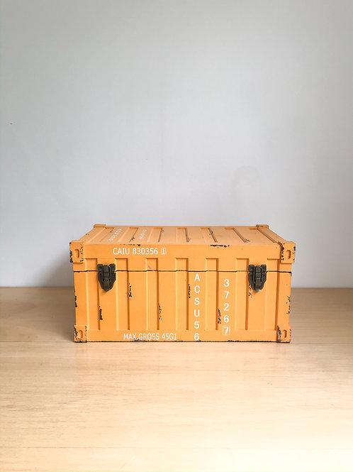 Container P amarelo