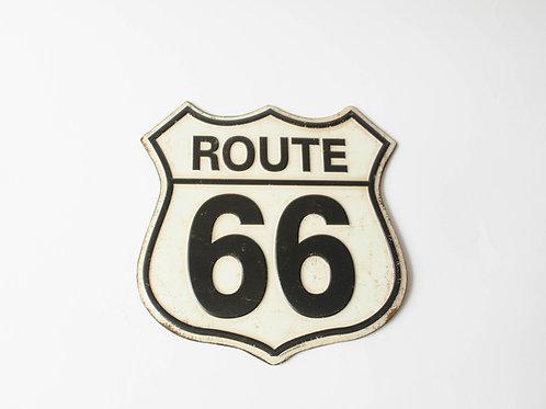 Placa vintage Route 66
