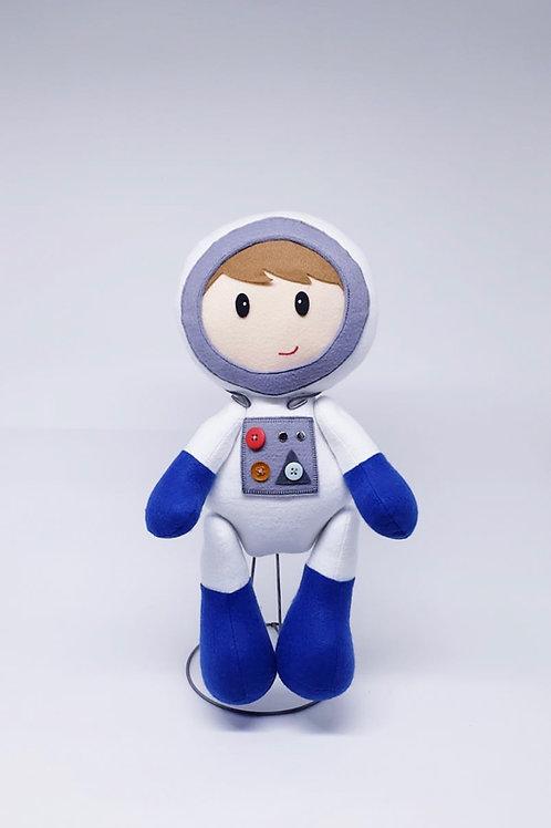 Astronauta em feltro