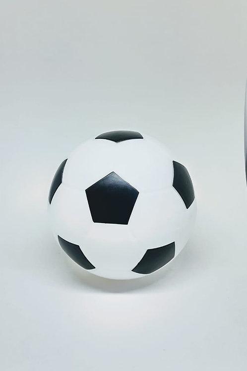 Luminoso bola de futebol