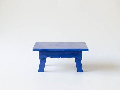 Mini banco Sofia azul marinho