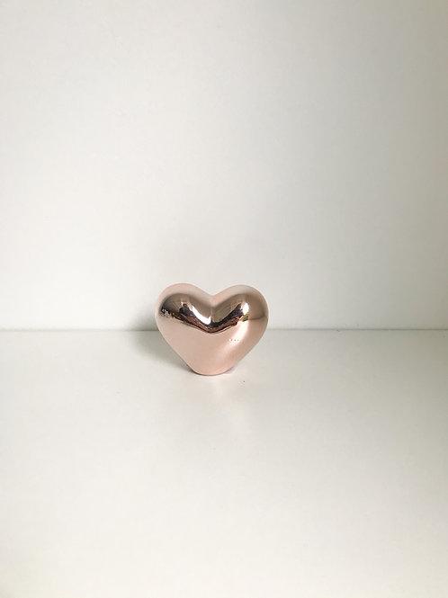 Coração P cobre