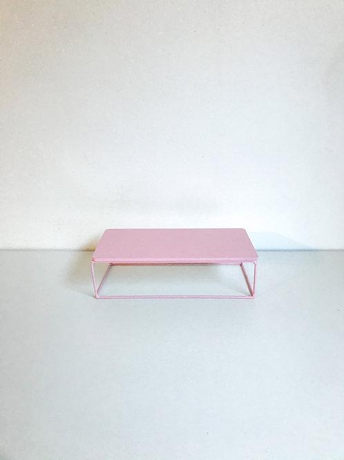Suporte Mondrian ret rosa claro