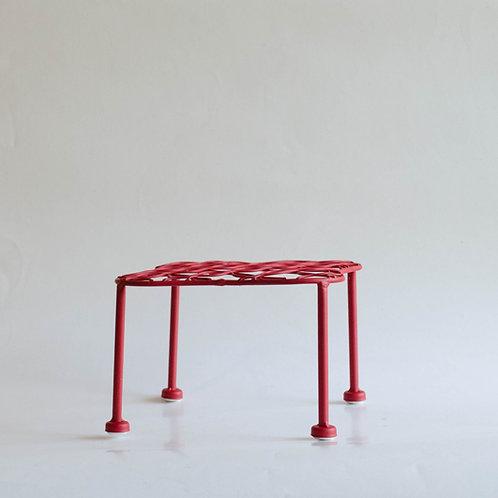 Mini mesa aramada M vermelha