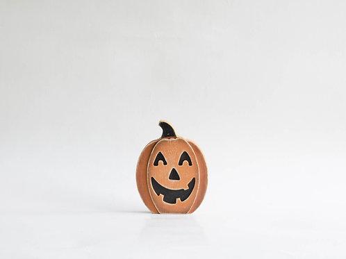 Abóbora madeira halloween