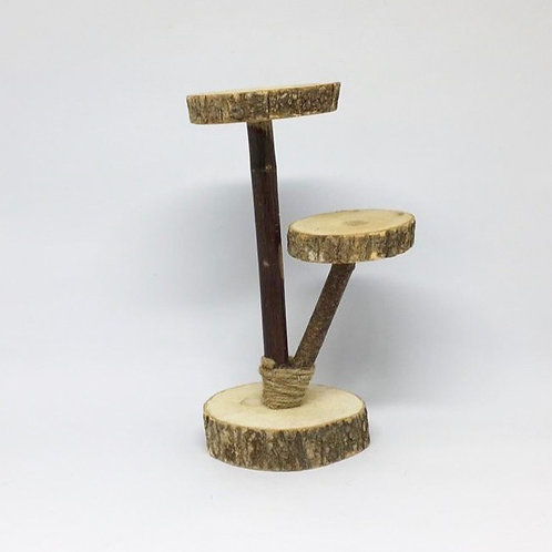 Suporte tronco duplo