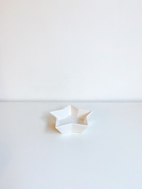 Bowl estrela branco