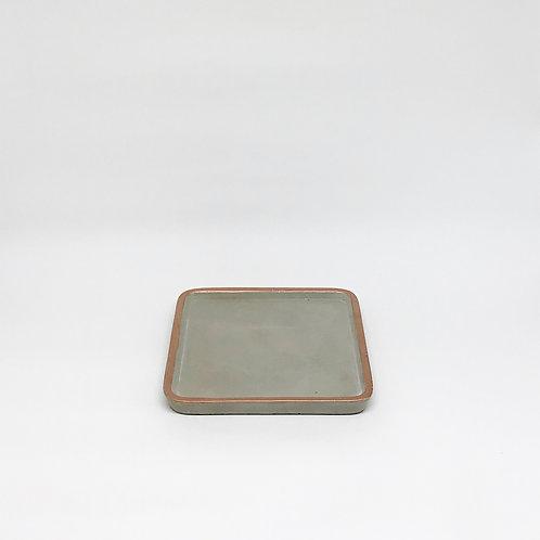 Bandeja concreto quadrada