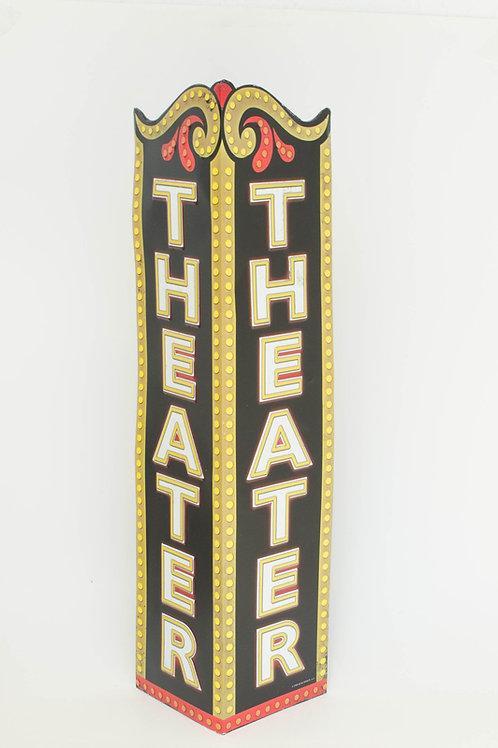 Letreiro Teatro