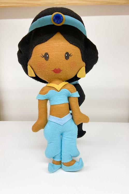 Jasmine feltro (Aladin)