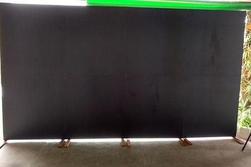 Painel Chalkboard preto (desenhos a giz) 4M