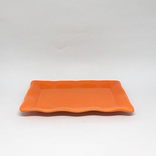 Bandeja Babados ret laranja