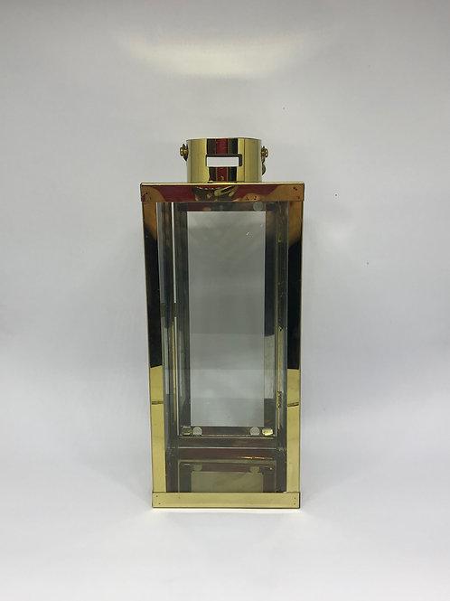 Lanterna Clássica G dourada