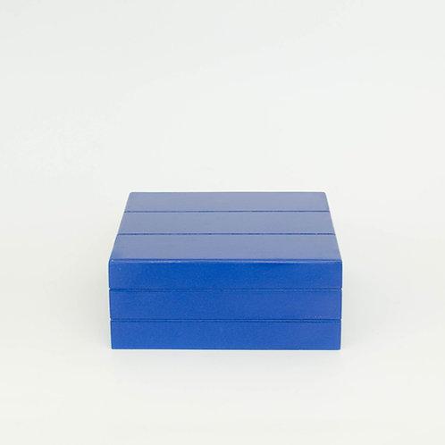 Caixa Teca azul marinho