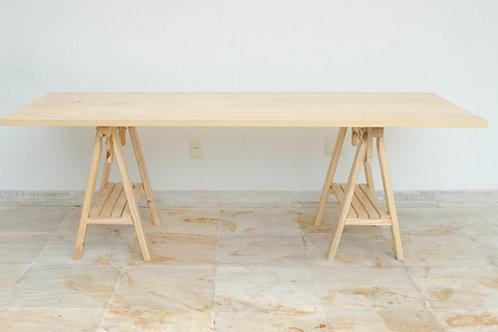 Tampo mesa cavalete anos 50 cru