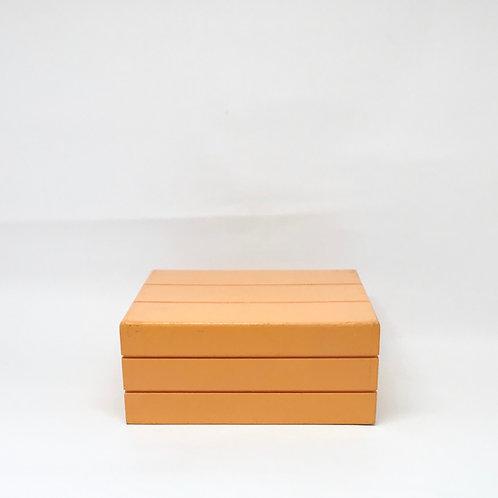 Caixa Teca laranja