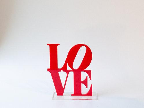 Placa Love NY