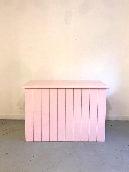 Mesa Friso rosa claro