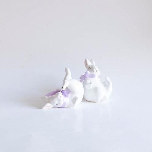Casal Coelhos cerâmica