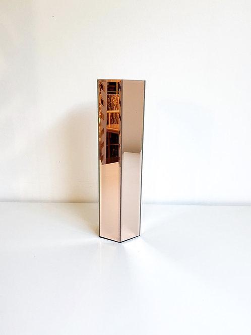 Cachepot espelhado cobre