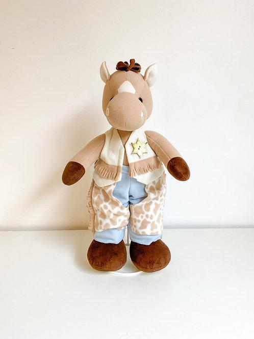 Cavalo baby pelúcia
