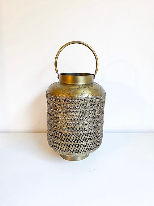 Lanterna Arábia dourada