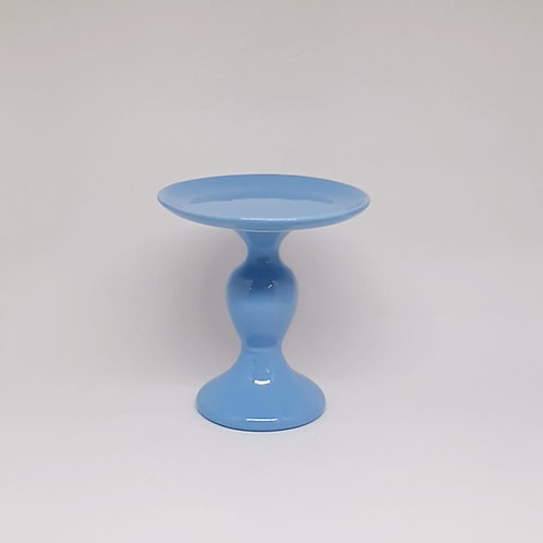 Prato castiçal P azul médio