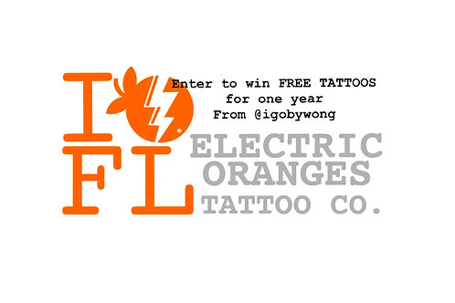 Enter to Win FREE Tattoos for the YEAR!