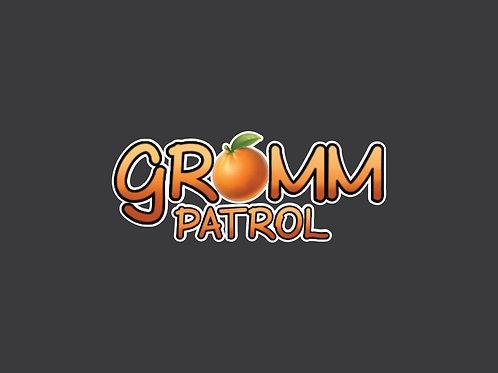 Gromm Patrol Logo Tee