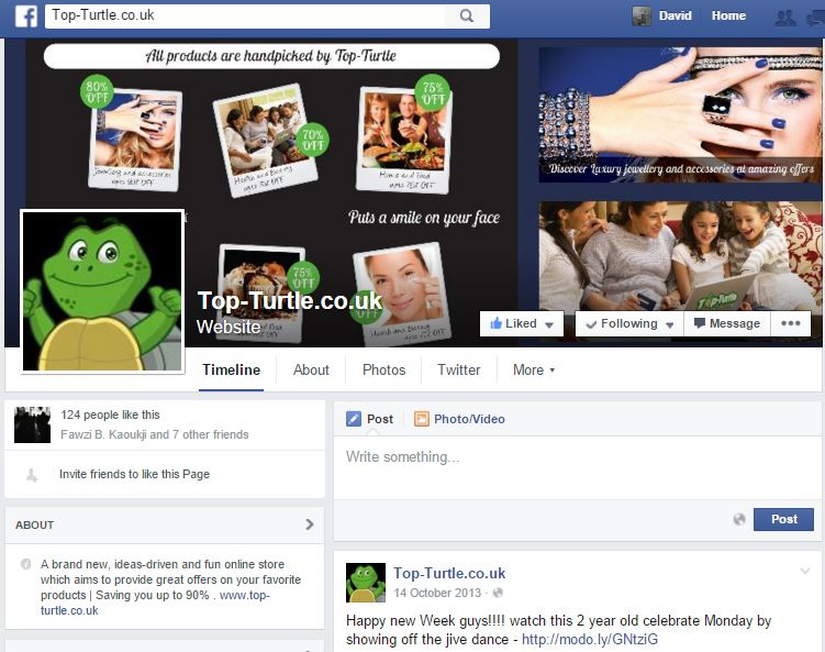Dpwdesign- Top-turtle facebook page