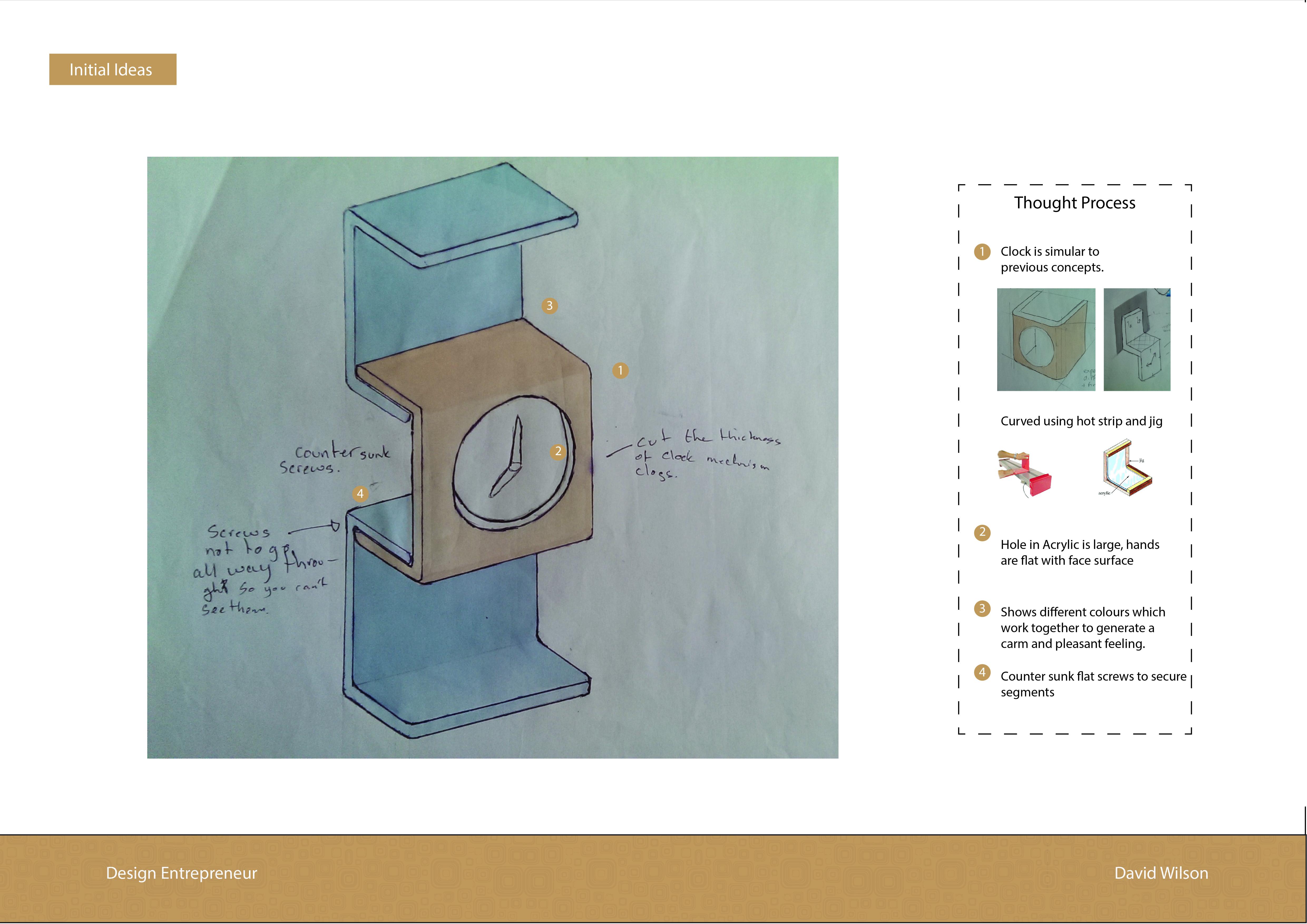 initial design clock 1