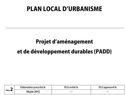 Plan d'aménagement et de développement durable de la commune d'Itsasu