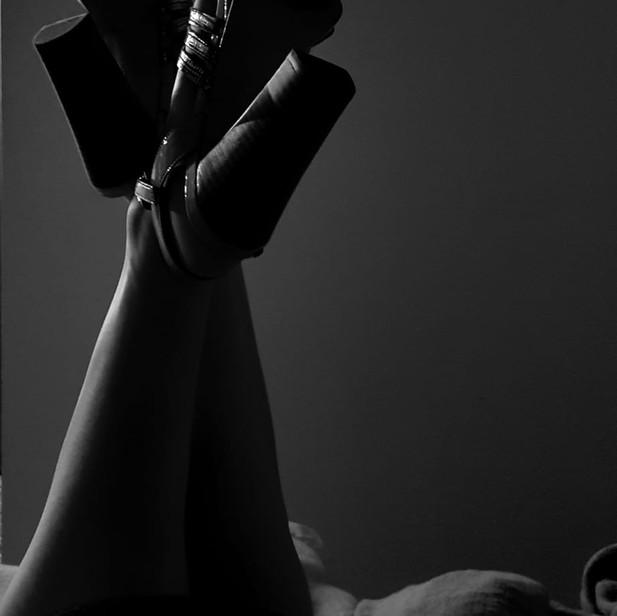 Slender legs...