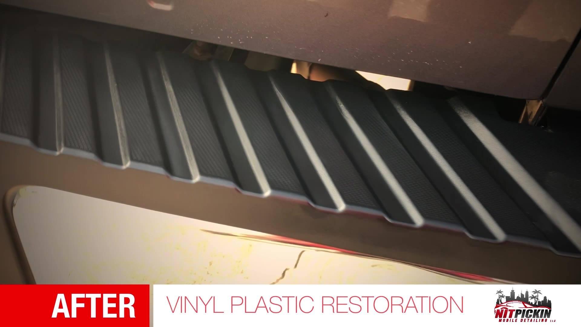 Exterior Plastic Restoration
