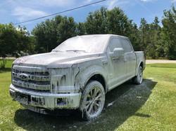 Ford King Ranch Foam Bath