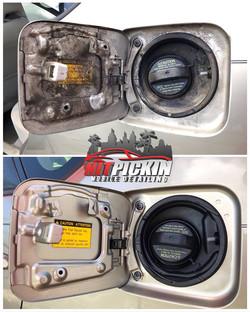 Gas Cap Detail