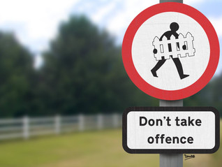 Why Take Offence?