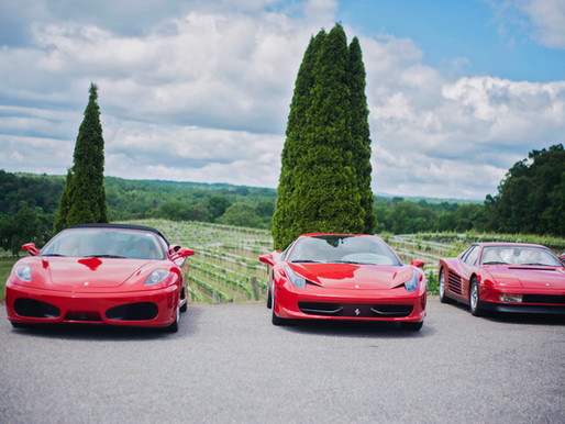 Food, Wine, & Ferraris!