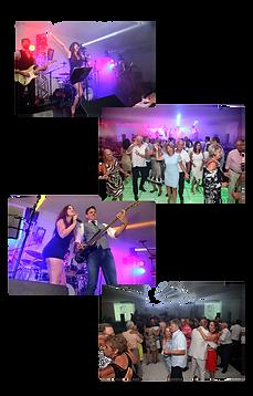 Publico animado na fest de 56 anos da Saba, em Atlântida.