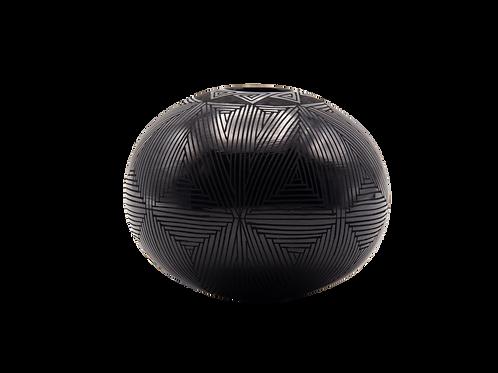 Black Octagram Pot